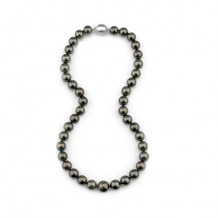 Imperial Pearl 14k White Gold Tahitian Pearl Necklace