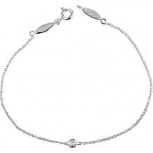 Stuller 14k White Gold Diamond Bracelet