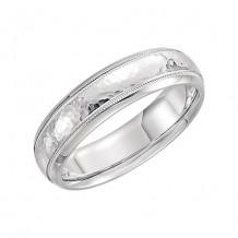 Stuller 14k White Gold Comfort Fit Wedding Band