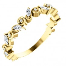 Stuller 14k Yellow Gold Diamond Anniversary Band
