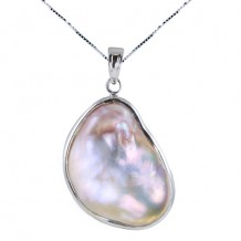 Imperial Pearl Sterling Freshwater Pearl Pendant