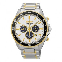 Seiko Core Solar Chronograph Men Watch